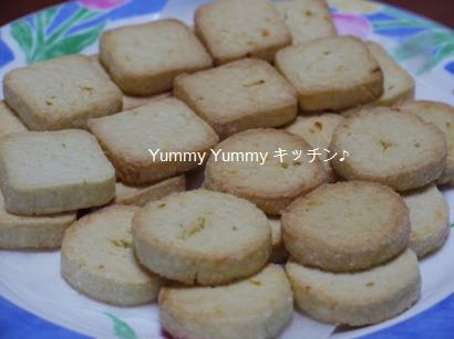 カルダモン香る☆金柑のアイスボックスクッキー☆