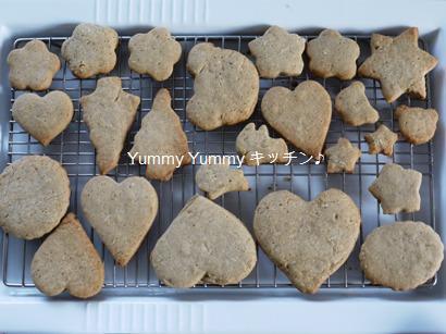 全粒粉入りオールスパイスクッキー!