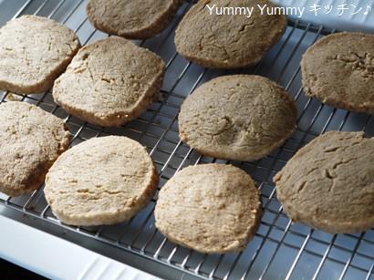 全粒粉入りオールスパイスクッキー♪