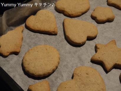 全粒粉入りオールスパイスクッキー☆