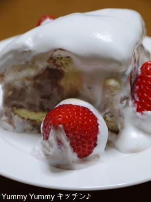 三色アイスケーキ♪
