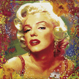 Guillaume・オルテガ-Marilyn-II-Posters