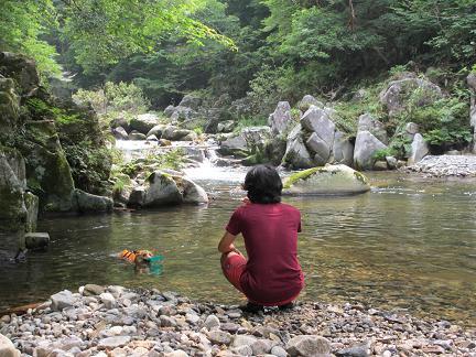 川遊び7.29