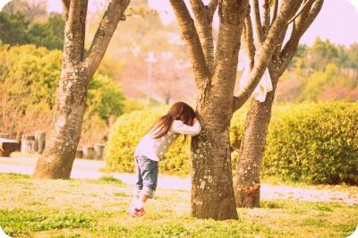 2012.4公園でかくれんぼ