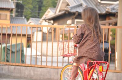2012.4yunと自転車