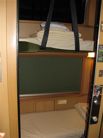 空き部屋・二段ベッド