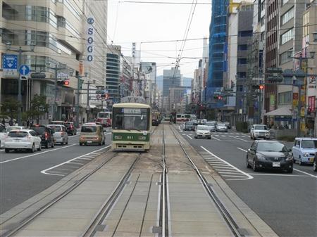 市電のある風景
