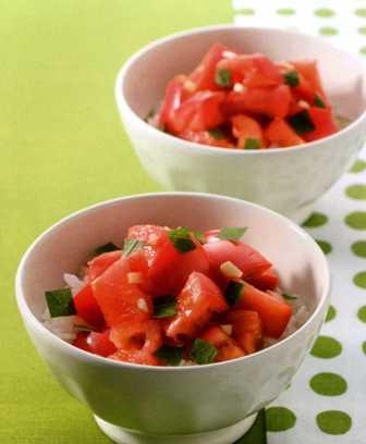 超簡単 トマト丼