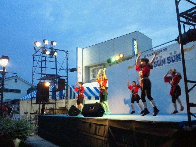 東御市民祭踊り