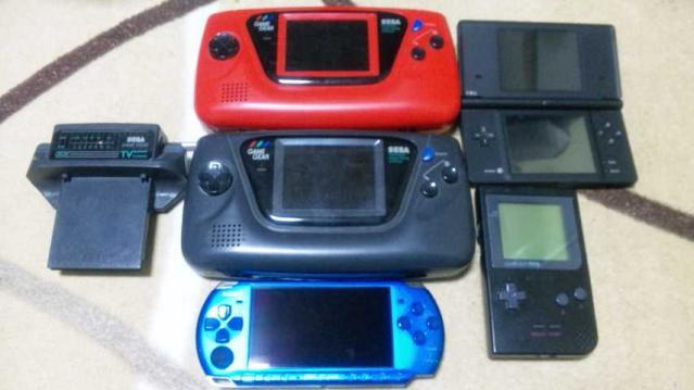 いろんな携帯ゲーム機