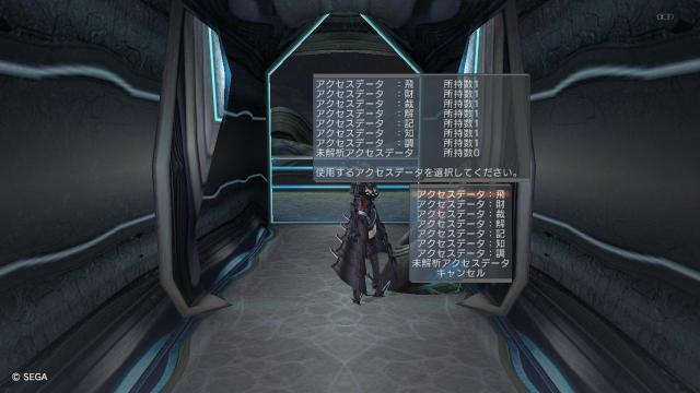 アクセスデータ