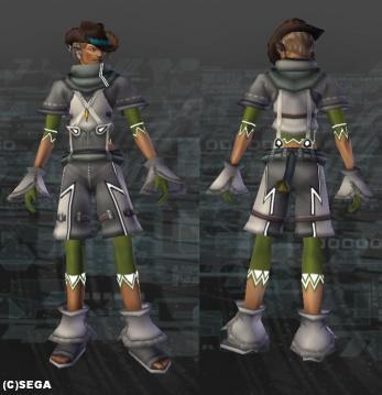 チューナモッコ・灰x緑
