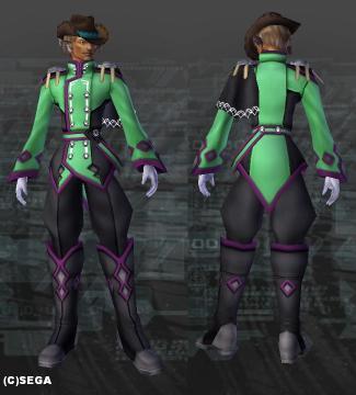アイゼンリッター・明るい緑x黒