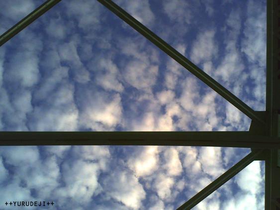 yurudeji_空と鉄橋
