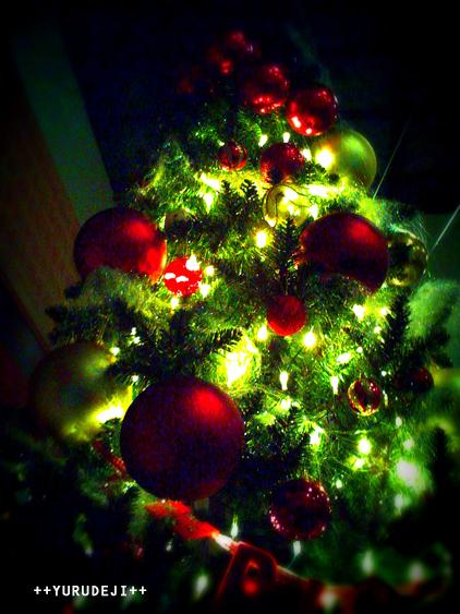 yurudeji_クリスマスツリー