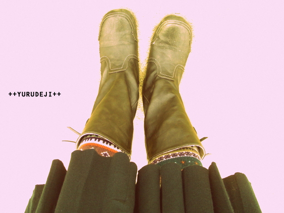 yurudeji_私の足