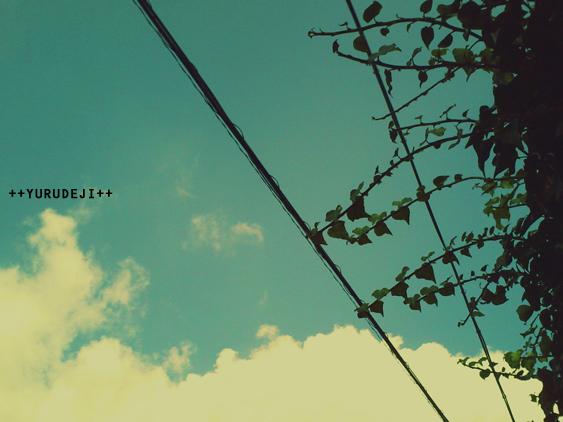 yurudeji_今日の空