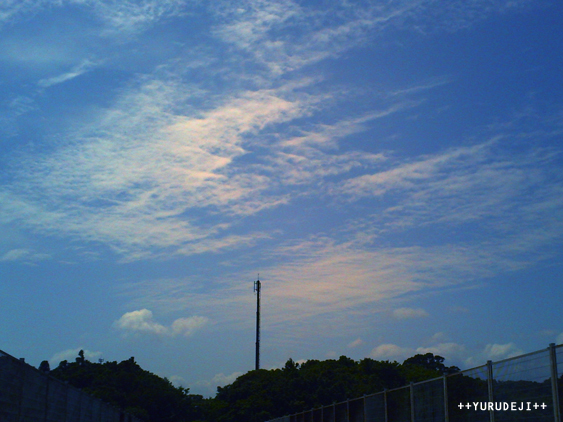yurudeji_空と雲