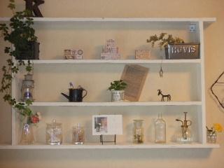 DIY 飾り棚2