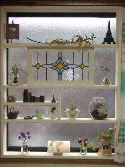 DIYの飾り棚