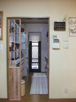 キッチン目隠し1