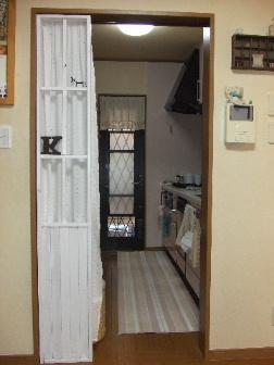 キッチンの入り口