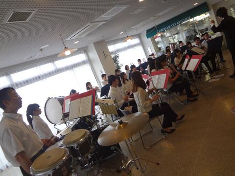 横浜ウインドウイザード横浜市栄区デイケア施設訪問演奏