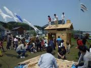 2011春お菓子撒き