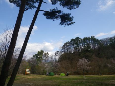 御座松キャンプ場 1