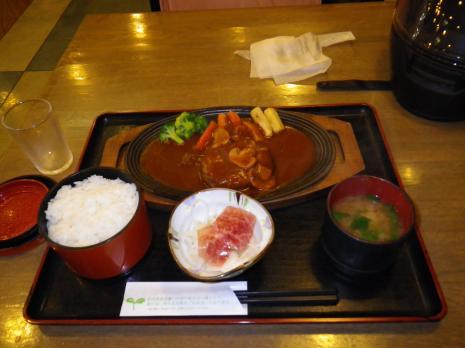 前沢SA レストラン