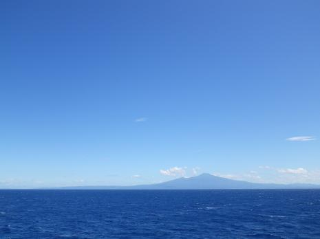 船上 鳥海山