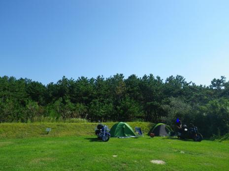 紫雲寺記念公園キャンプ場 4