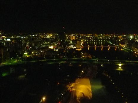 ホテル日航新潟 夜景