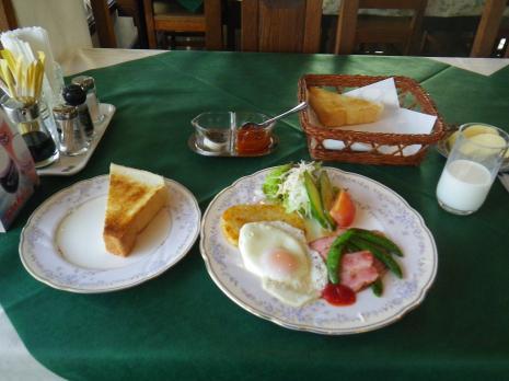 赤倉ユアーズイン 朝食