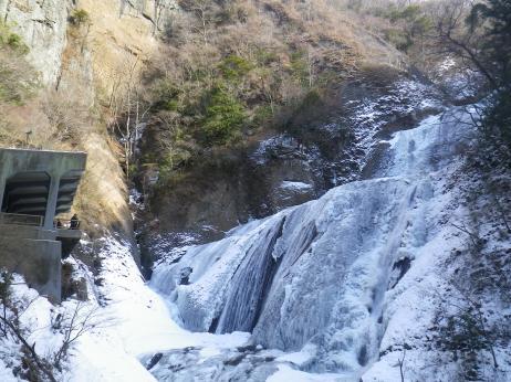 袋田の滝 全景