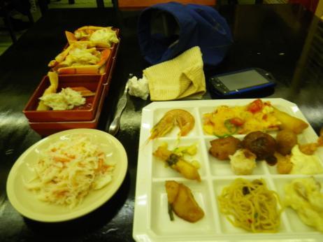 ホテル奥久慈館 夕食
