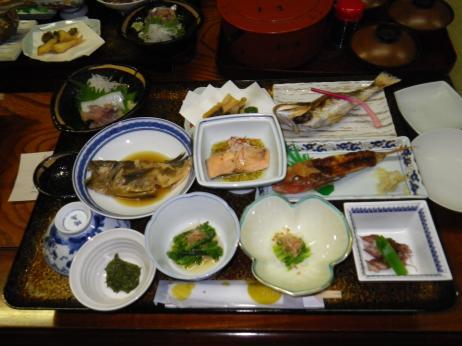 酒田屋旅館 夕食