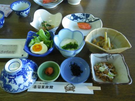 酒田屋旅館 朝食