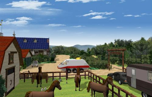 シラカバ牧場