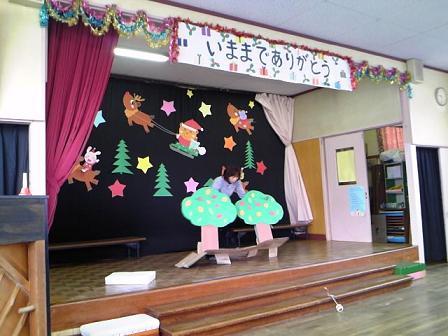 須坂保育園H23クリスマス会