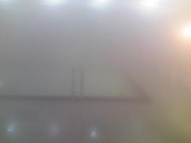 厳寒の湯舟須坂温泉