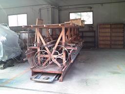 大型製糸機械
