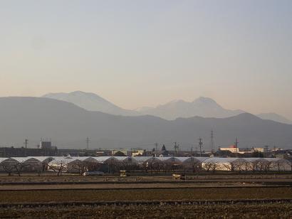 黒姫・妙高山(冬)