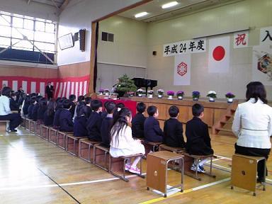 H24森上小学校入学式