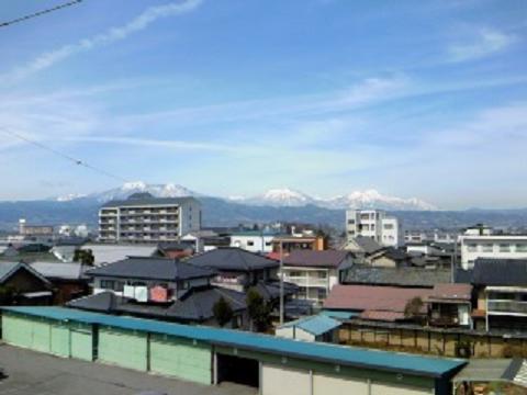 H24中央公民館からの五岳眺望
