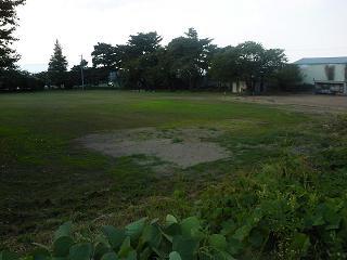 給食センター候補地は陸砂利採取地跡
