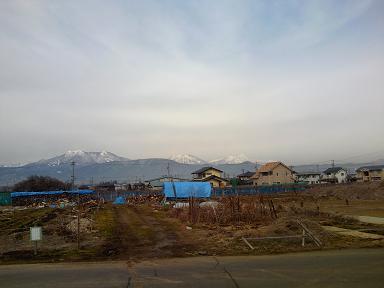 早春の北信濃五岳
