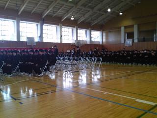 H24墨坂中学校卒業証書授与式