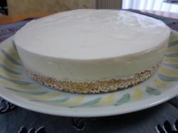 レアチーズケーキ3