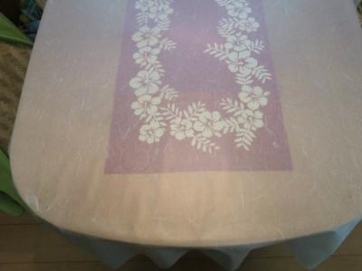 和紙テーブルクロス4